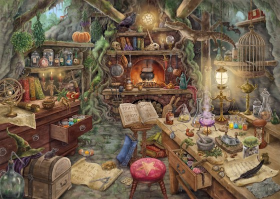 Il Branco di Lupi Ravensburger Puzzle Escape the Puzzle