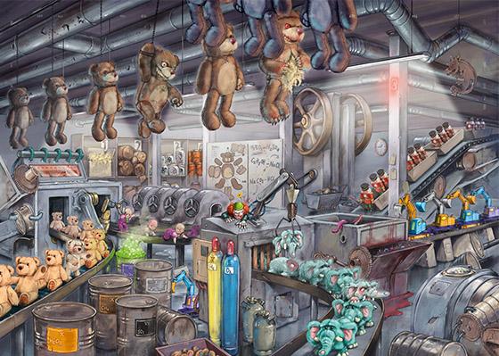 Exit Spielzeugfabrik